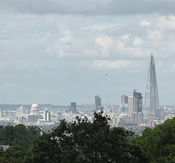 London from Sydenham Hill