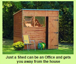 shed as office